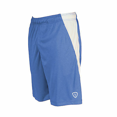 New Adrenaline Lacrosse D.I.ALL Shorts with pockets  (Royal/ White) - Large