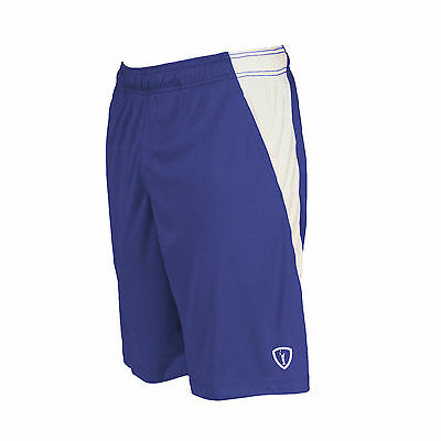 New Adrenaline Lacrosse D.I.ALL Shorts with pockets  (Navy/White) - Large