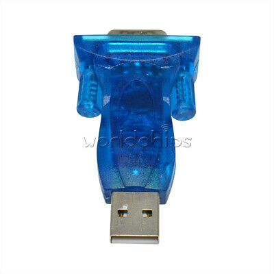 CH340G USB 2.0 to 9-pin RS232 COM Port Serial Convert Adapter NEW M66 Top