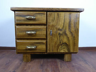 50er 60er schrank klein eckschrank vintage hifi schrank mid century danishdesign eur 51 00. Black Bedroom Furniture Sets. Home Design Ideas