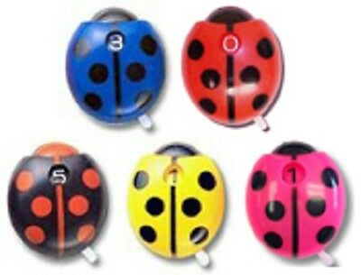 Genuine Ladybug Golf Accessories Stroke Score Counter Clicker 5-Pack NEW