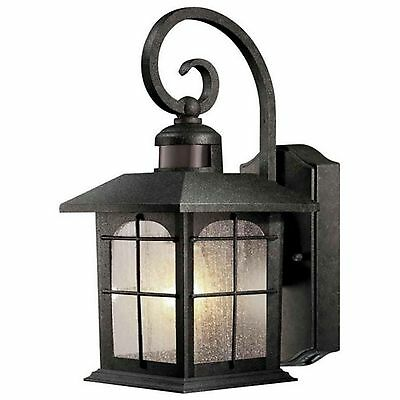 Outdoor Porch Wall Lantern Motion Sensor Activated Light Lighting Lamp Fixture
