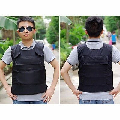 Stab Proof Vest knife protective Anti Stab Security Vest Outdoor Self-defense UK