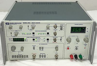 Global Specialties 9004 Rf Generator~Frequency Counter~Function Gen~Power Supply