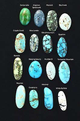 Natural Mix Turquoise Lot Cab Cabochon