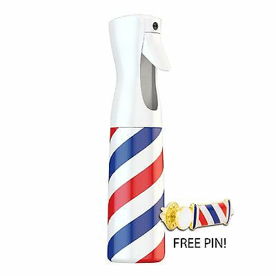 MD Continuous Spray Bottle w/ Free Barber Pole Pin