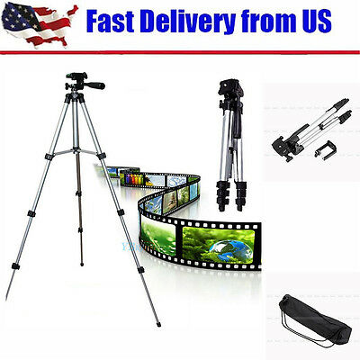 Universal Telescopic Camera Tripod Stand Holder Mount For Phone Camera Nikon DV