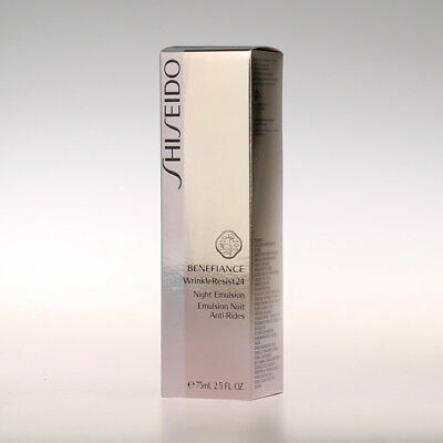 Shiseido Benefiance WrinkleResist24 - Night Emulsion 75ml
