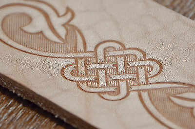 Celtic Leather Belts Embossing Stamp. For embossing VegTan Tooling Leather