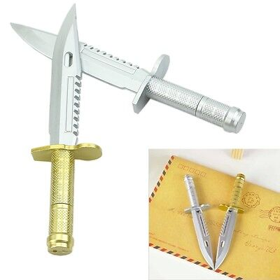 New Funny Ballpoint Pen Knife Shape Dagger Writing Instrument Creative Cool Gift