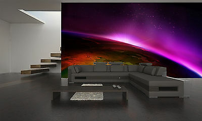 Earth Wall Mural Photo Wallpaper GIANT DECOR Paper Poster Free Paste