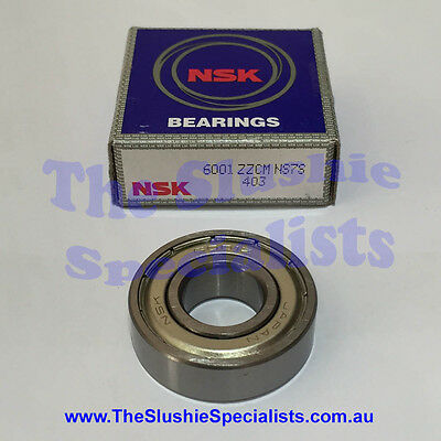 NSK Bearing 6001ZZ - Made in Japan - Best Quality Available - Individually Boxed