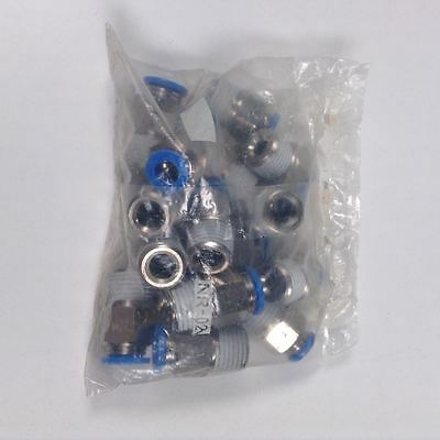 Festo QS-1/4-8 Push-in Fitting New Factory Packing (16 Pieces)