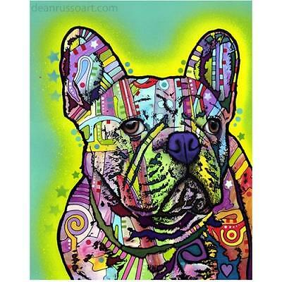 French Bulldog Print 8x10 by Dean Russo (DR0608x10) - Free Ship