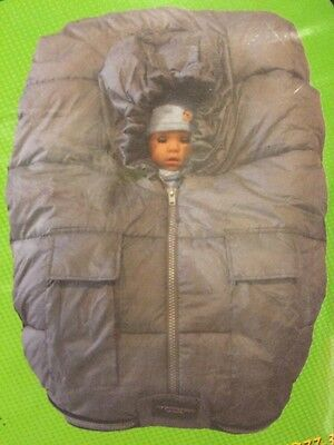Nib New Unused Baby Footmuff Infant Carrier Cover 3 Zipper Breathable Foot Muff