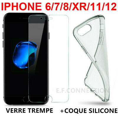 coque iphone xr vitre