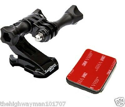 Genuine Gopro Hero4 3 2 1 and 3+Plus Helmet Front Mount Bracket J-Hook Buckle