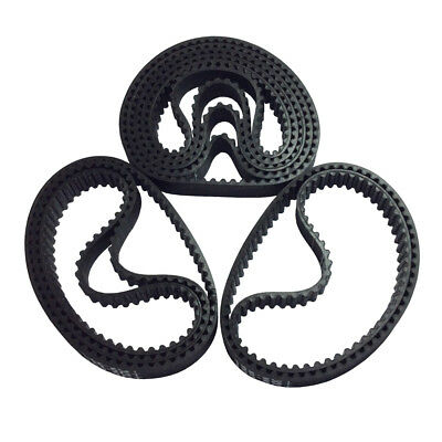2x Synchronous Timing Belt for 3D Printer GT2 2GT-6 200/&280mm New