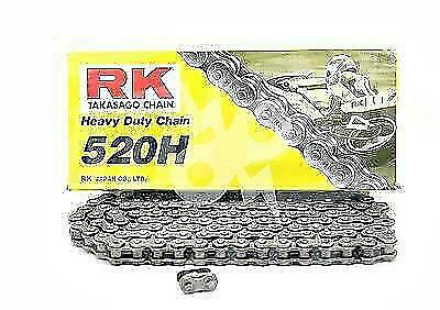 RK Chains 520 x 120 Links HD Standard Series  Non Oring Natural Drive Chain