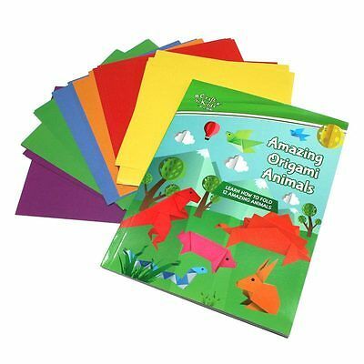 BMS Craft for Kids Amazing Origami Animals Book Kit