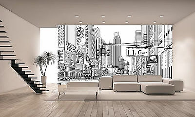 Street in New York Wall Mural Photo Wallpaper GIANT DECOR Paper Poster