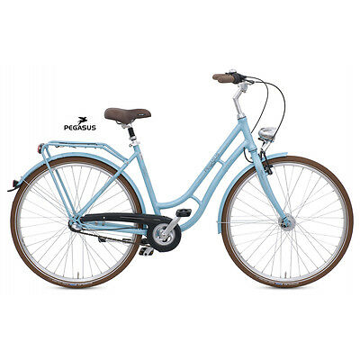 damen citybike pegasus 1949 28 zoll fahrrad blau 50 cm. Black Bedroom Furniture Sets. Home Design Ideas