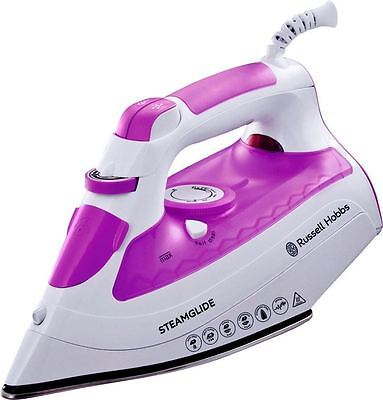 Russel Hobbs Steam Glide 2600W Stainless Steel Soleplate 300ml Steam Iron 21360