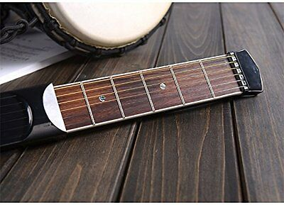 SKYREAT Portable Pocket Guitar Practice Tool Gadget Guitar Chord Trainer 6 Fret