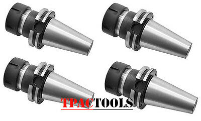 Cat40 Er40 Precision Cnc Collet Chuck 4Pc New