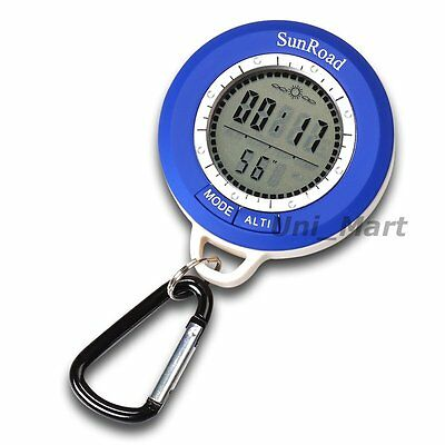 Digital Altimeter Compass Barometer -699~8991m Altitude Thermometer Hiking Camp