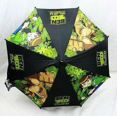 NWT BEN 10 ALIEN FORCE Kids Umbrella 100% Authentic Licensed