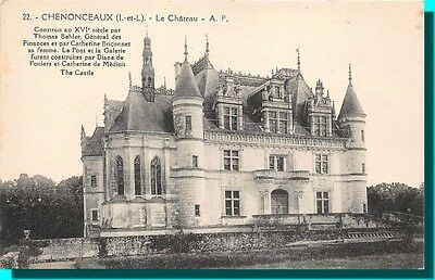CPA- CHEMONCEAUX The castle
