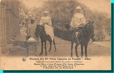 Missions of rds Fathers capuchin to Punjab - Indes
