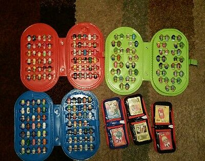 Mighty beanz series 1 2 and 3 ALL complete + cases & cards