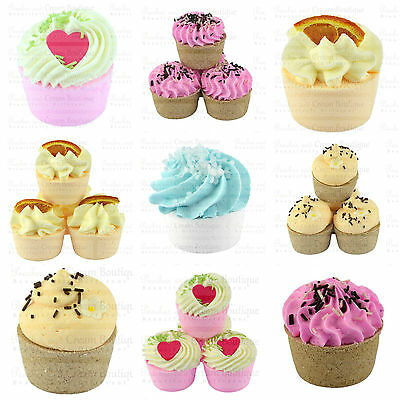 Buttery Fizzy Bath Bomb Cupcake Creamers Natural Ingredients UK Handmade Various