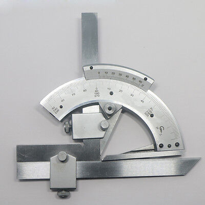 0-320° Precision Angle Measuring Finder Universal Bevel Protractor Tool