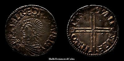 Aethelred II Penny - Long Cross Type - Winchester Mint (HHC3334)