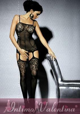 Catsuit ricamata a Guepiere - lingerie Obsessive ref OB4180
