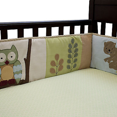 Lambs & Ivy Enchanted Forest 4-Piece Crib Bumper