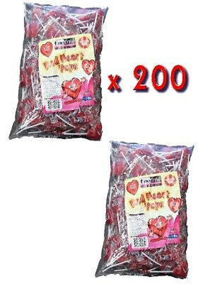 Other Candy, Gum & Chocolate Nice Ct Red Heart Pops X 100 Food & Beverages
