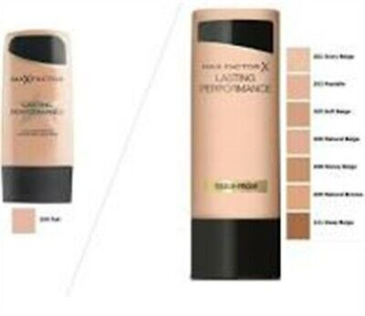 Natural Max Factor Lasting Performance Foundation 35ml Free World Wide Postage