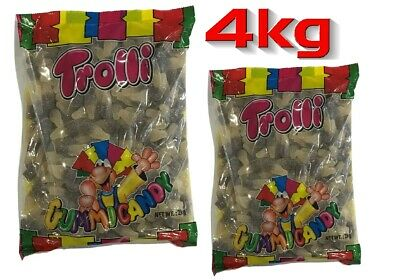 Trolli Sour Cola Bottles 4kg Bag Candy Buffet Gummy Jelly Lollies Party Favors