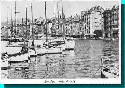 CPSM - TOULON the docks