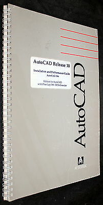 AutoCAD RELEASE 10 INSTALLATION AND PERFORMANCE GUIDE PHAR LAP 386 DOS-EXTENDER