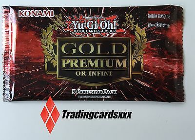 ♦Yu-Gi-Oh!♦ Booster de 5 cartes Gold Premium : Or Infini (Infinite) -VF/NEUF-