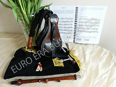 Irish uilleann practice set With Reeds Set & Learning Book By Euro Era