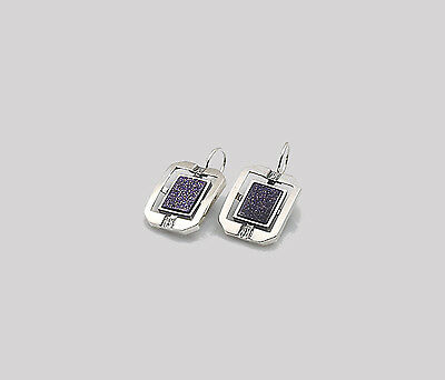 New Genuine Sterling 925 Silver Ladies Women's Handmade Earrings Gift Boxed