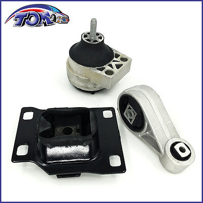 Brand New  Trans Engine Mount Set Fit 2000-2004 Ford Focus 2.0L Dohc