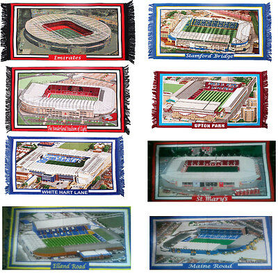 New Large Size Football Stadiums Grounds Wall Hanging Rugs size  90 cm x 140 cm