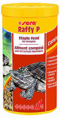 Sera Raffy P Staple food for carnivorous reptiles such as terrapins